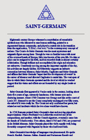 SAINT Germain Bio eBook cover