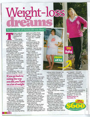 Take 5 weight loss article on our CD