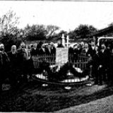 Old picture of Mesmer's grave