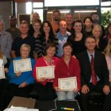 Hypnosis training group on completition
