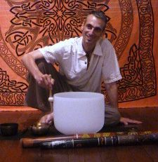 Olivier Maxted founder Sound Bath Healing