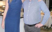 Rick with Peta Wilson