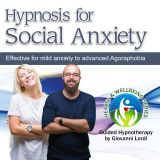 Hypnosis for Social Anxiety CD cover
